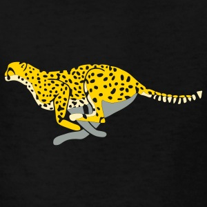 Black cheetah_running Kids' Shirts - Kids' T-Shirt
