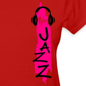 Red jazz Women's T-Shirts - Women's T-Shirt