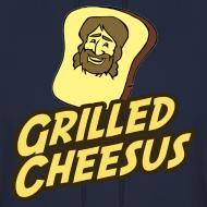 Design ~ GRILLED CHEESUS Men's Hoodie