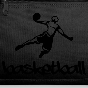 Dark red Basketball Bags  - Duffel Bag