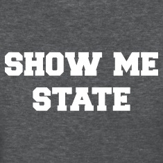 Deep heather missouri show me state Women's T-Shirts