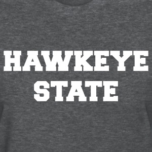 Deep heather iowa hawkeye state Women's T-Shirts - Women's T-Shirt