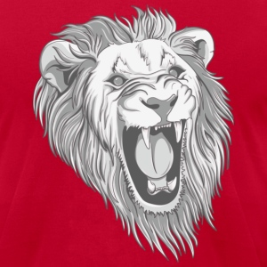 Light blue lion T-Shirts - Men's T-Shirt by American Apparel