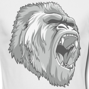 White ape Long Sleeve Shirts - Men's Long Sleeve T-Shirt by Next Level