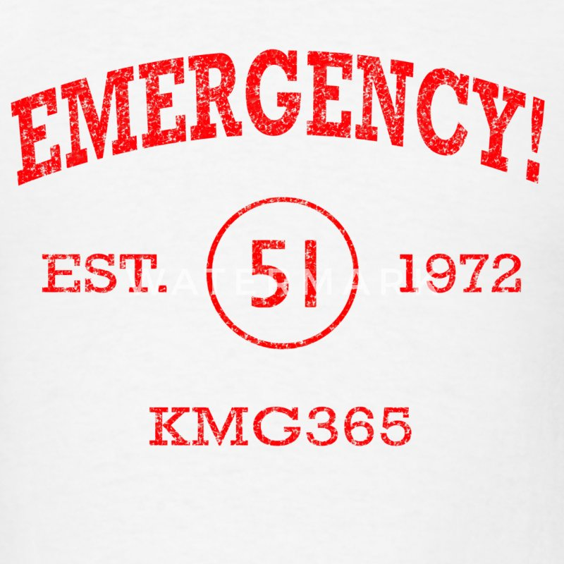 EMERGENCY! Squad 51 Vintage Style T-shirt - Men's T-Shirt