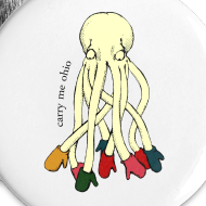 Design ~ Small Octopus Buttons (5)