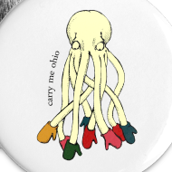 Design ~ Large Octopus Buttons (5)