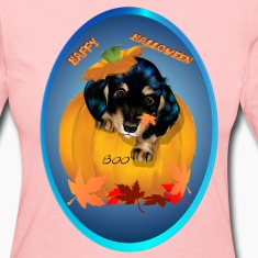 Dashund Puppy Halloween-Boo