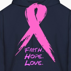 grunge ribbon awareness Hoodies