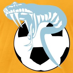 soccer viper - Men's T-Shirt by American Apparel