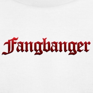 White Fangbanger T-Shirts - Men's T-Shirt by American Apparel