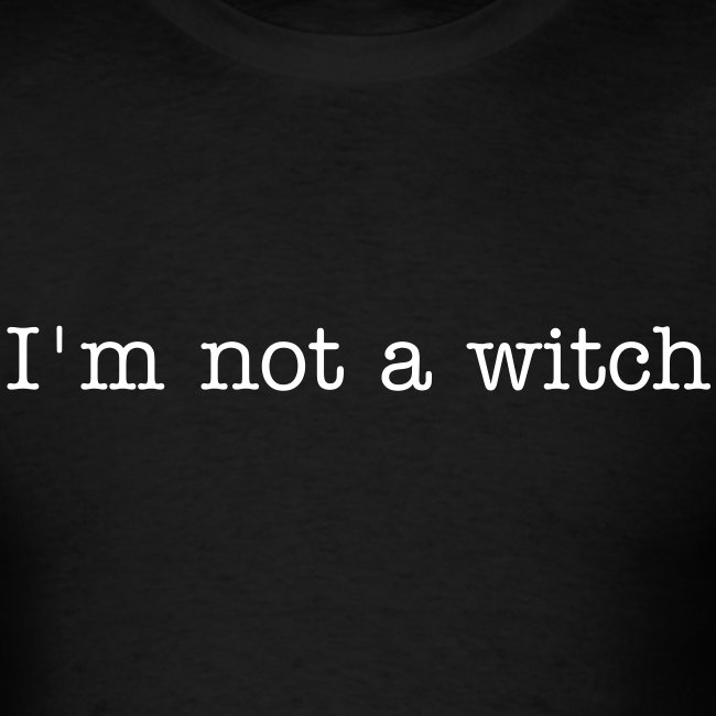 I'm not a witch