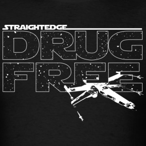 Straight Edge Star Wars Design - Men's T-Shirt