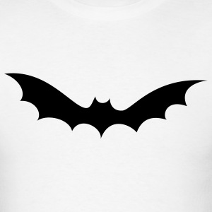 White bat halloween T-Shirts - Men's T-Shirt