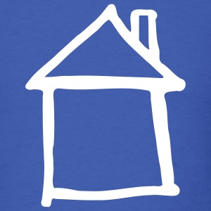 Royal blue House T-Shirts - Men's T-Shirt