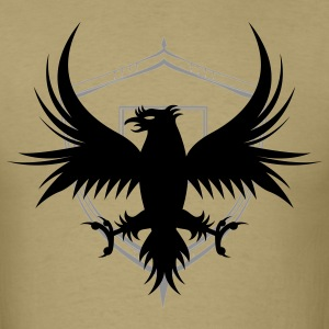 Men's Regal Falcon and Shield Tee - Men's T-Shirt