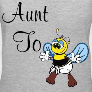 Aunt To Bee - Women's V-Neck T-Shirt