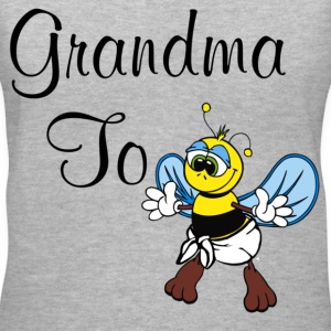 Grandma To Bee - Women's V-Neck T-Shirt