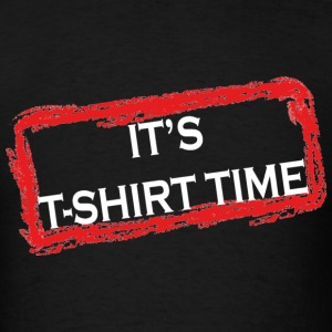 "Men's Jersey Shore ""It's T-Shirt Time"" Quote Tee - Men's T-Shirt"
