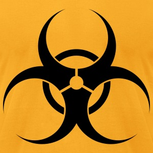 Biohazard T-Shirts - Men's T-Shirt by American Apparel