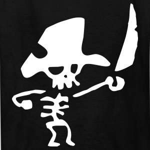 Pirate Skeleton - Kids' T-Shirt