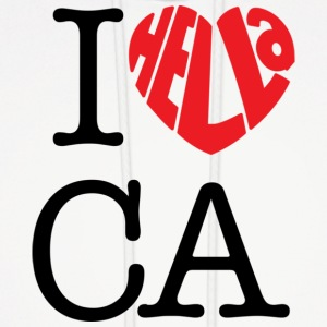 I Hella Love California - Men's Hoodie