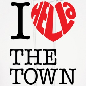 I Hella Love The Town - Men's Hoodie
