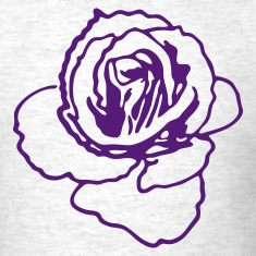 rose shape ROSES are my favourite! T-Shirts