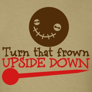 turn that frown upside down voodoo child T-Shirts - Men's T-Shirt