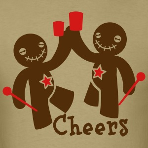 voodoo children cheers beer T-Shirts - Men's T-Shirt