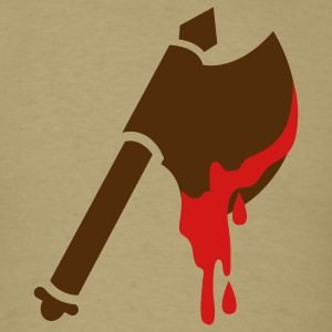 viking axe with dripping blood T-Shirts - Men's T-Shirt