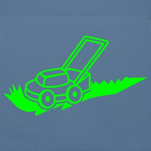 lawn mower mowing contractor cutting grass Hoodies - Men's Hoodie