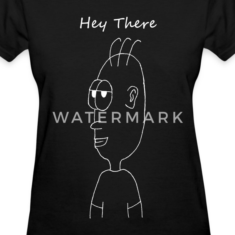 HEY THERE WHITE (WOMEN'S) - Women's T-Shirt