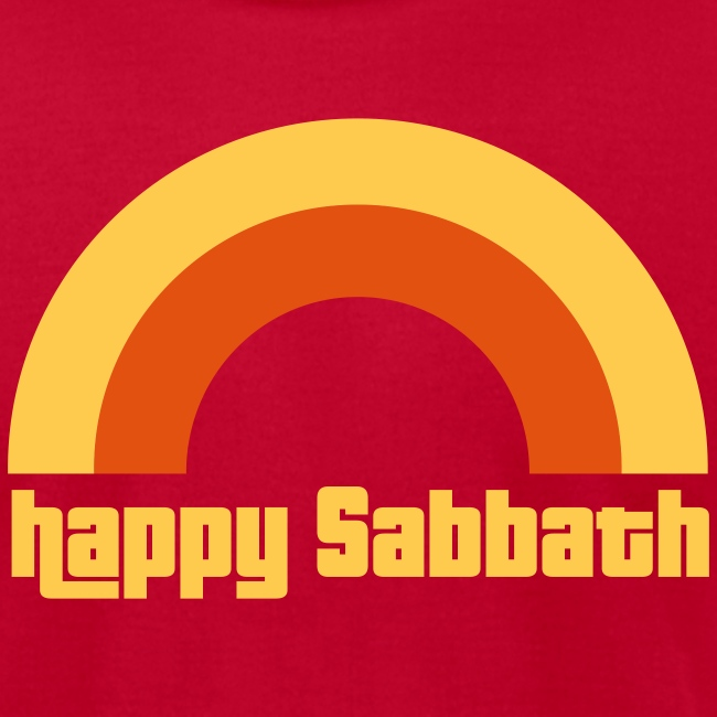 Happy Sabbath 2 A Color Mens