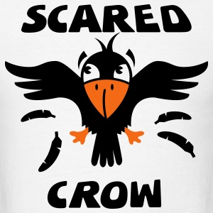 Scared Crow Animal Shirt for White Shirts T-Shirts - Men's T-Shirt