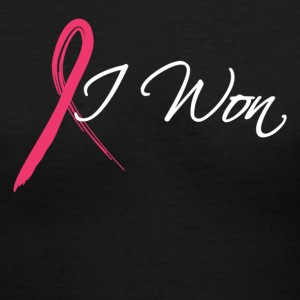i won Women's T-Shirts - Women's V-Neck T-Shirt