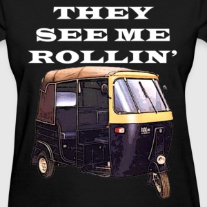 THEY SEE ME ROLLIN' WHITE (WOMEN'S) - Women's T-Shirt