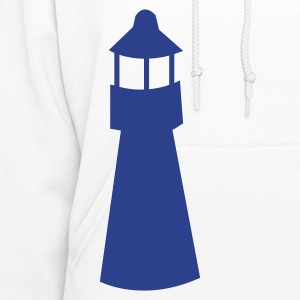 lighthouse watchtower shape Hoodies - Women's Hoodie