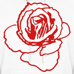rose shape ROSES are my favourite! Hoodies - Women's Hoodie