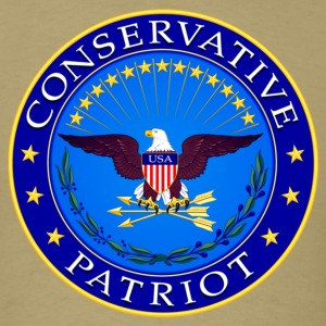 Conservative Patriot - Men's T-Shirt