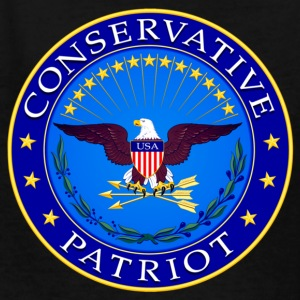 Conservative Patriot - Kids' T-Shirt