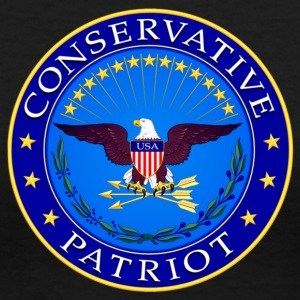 Conservative Patriot - Women's V-Neck T-Shirt