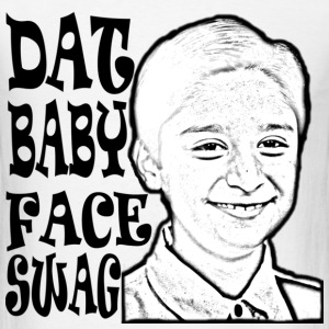 DAT BABY FACE SWAG BLACK (MEN'S) - Men's T-Shirt