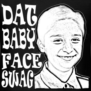 DAT BABY FACE SWAG WHITE (MEN'S) - Men's T-Shirt