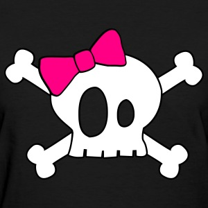 Cute Skull T-shirt - Women's T-Shirt