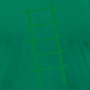 simple ladder steps up CLIMB T-Shirts - Men's T-Shirt by American Apparel