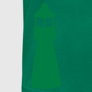 lighthouse watchtower shape T-Shirts - Men's T-Shirt by American Apparel