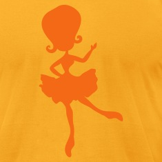 pretty dancing ballerina girl T-Shirts