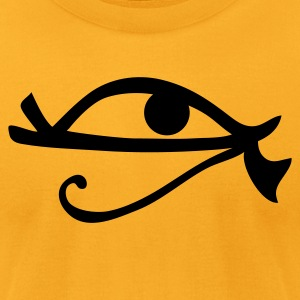 Egyptian hieroglyphic eye EGYPT  T-Shirts - Men's T-Shirt by American Apparel