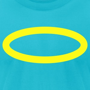halo (angel) T-Shirts - Men's T-Shirt by American Apparel